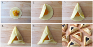 How to Fold Hamentashen